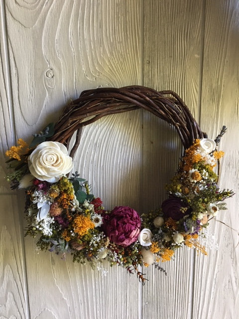 Country Love Wreath