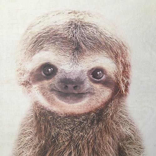 Custom Sloth Print