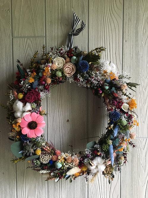 Daisy Days Wreath