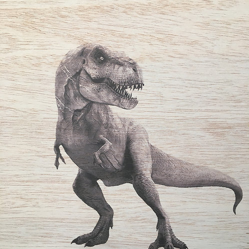 Custom T-Rex Print
