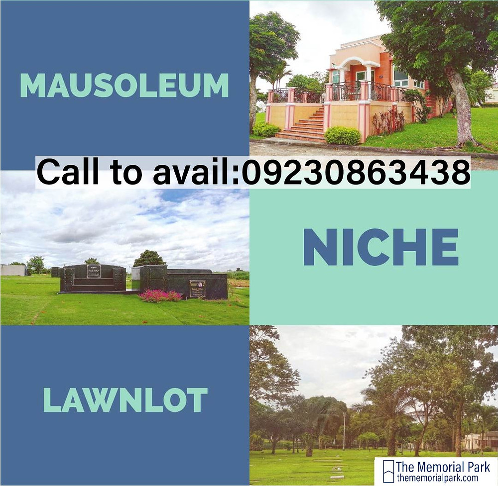 List of Inventories of Manila Memorial Park Cemetery. Contains Lawn lots, Single niche, Double niche and Mausoleums