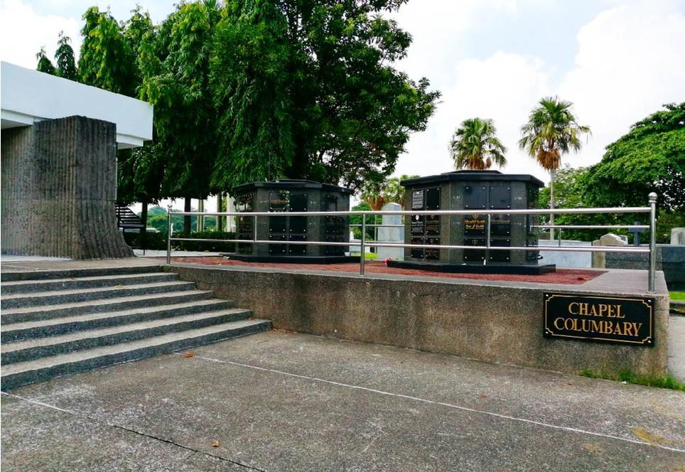 Chapel Columbarium in Holy Cross Memorial Park
