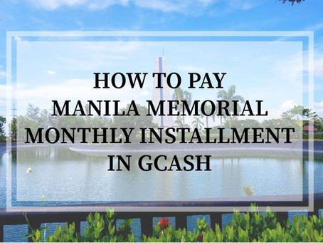 How to Pay Manila Memorial Installment in GCash