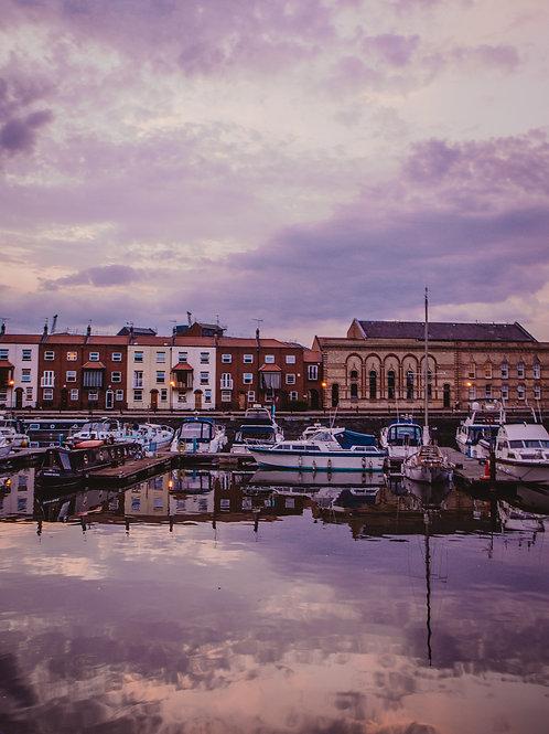 Purple Bristol Harbour