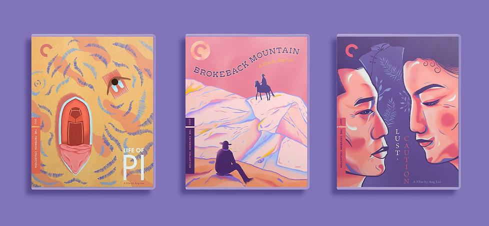 Ang Lee DVD Covers