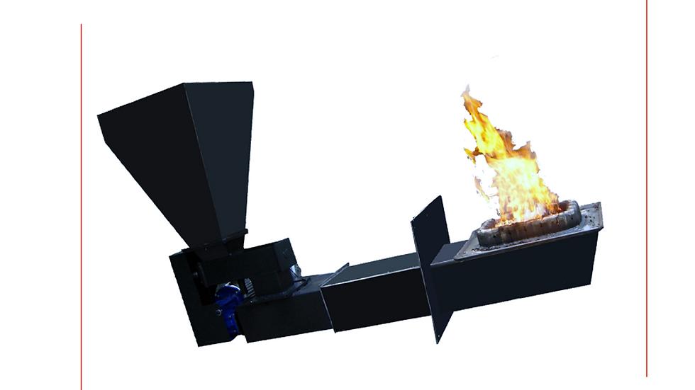 """Bruciatore a biomasse """"KB-DC 180"""""""