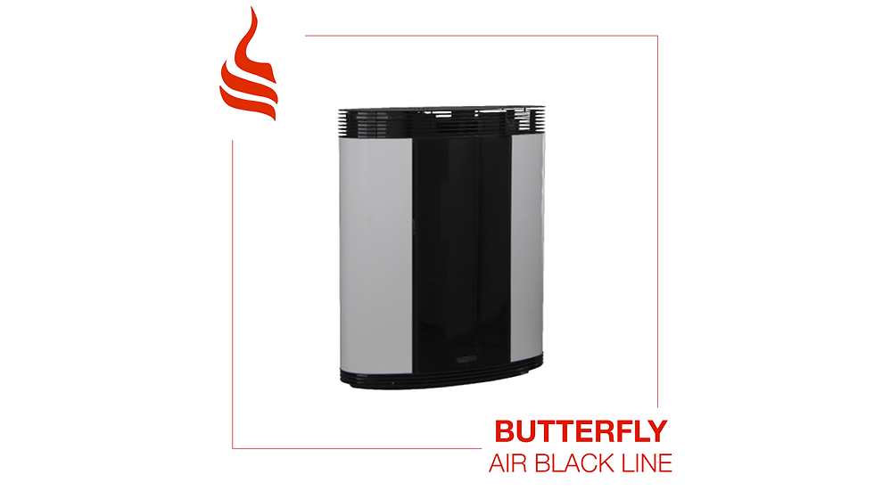 Butterfly Air Black Line 11