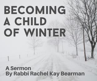 A Sermon for the last Shabbat of 2020