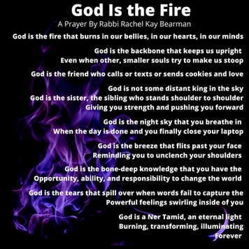 God is the Fire