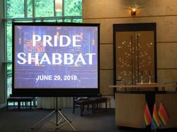 TBC's Annual Pride Shabbat