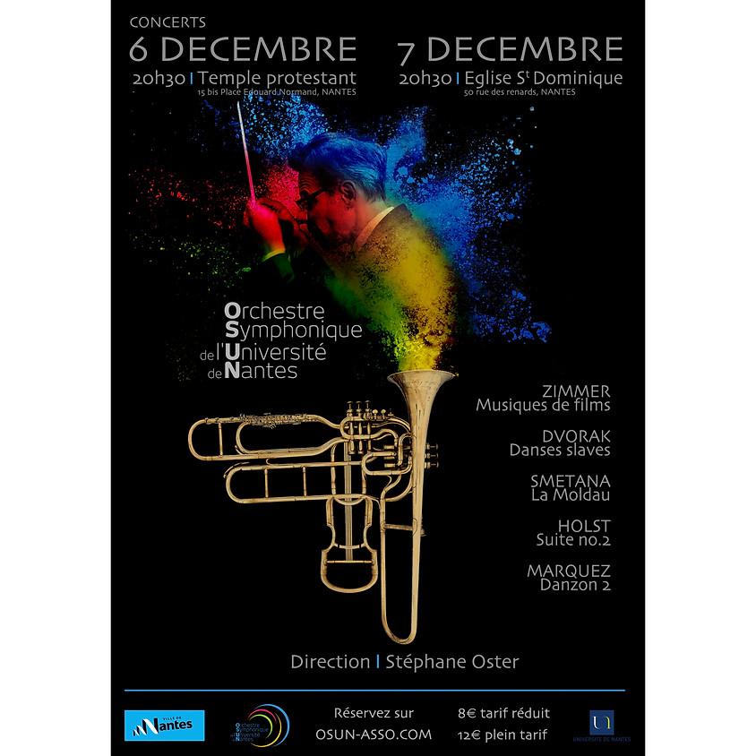 Concert OSUN - Temple Protestant - 6 Décembre