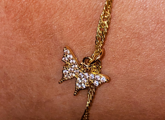 Beautiful Butterfly Anklet