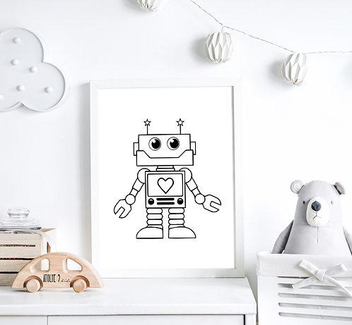 Lego Seri Poster ÇO025