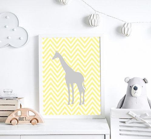 Zürafa Poster ÇO013