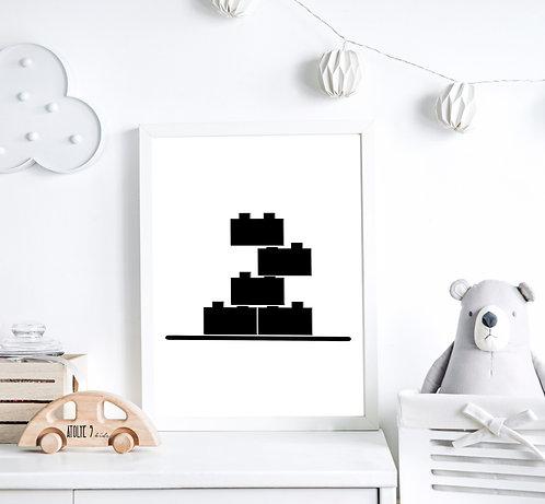 Lego Seri Poster ÇO027
