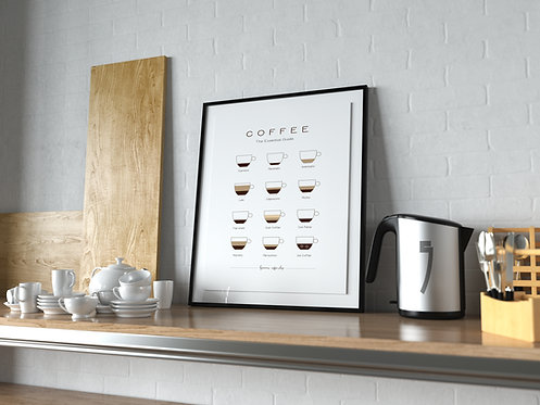 COFFEE SHOP Poster MP0035