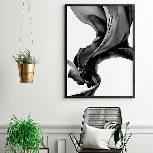 Siyah Saten Poster 16005