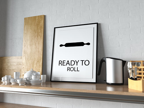 Ready to Roll Poster MP0026