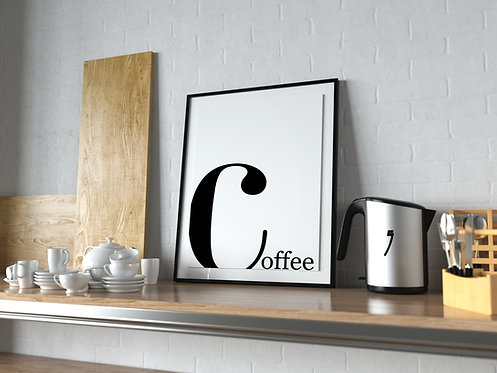 COFFEE GÖRSEL Poster MP0042