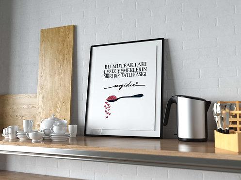Mutfak Sırrı Poster MP0021