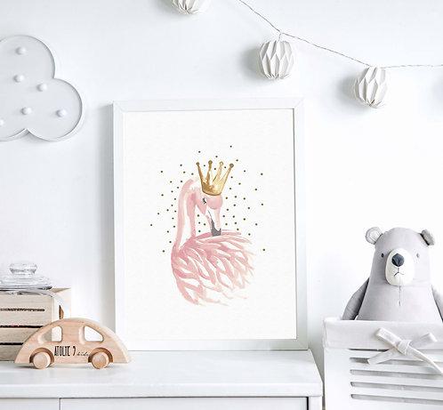 Flamingo Poster ÇO028