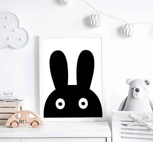Tavşan Poster ÇO001