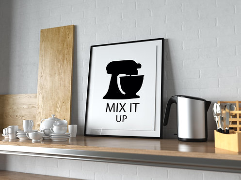 Mix It Up Poster MP0025