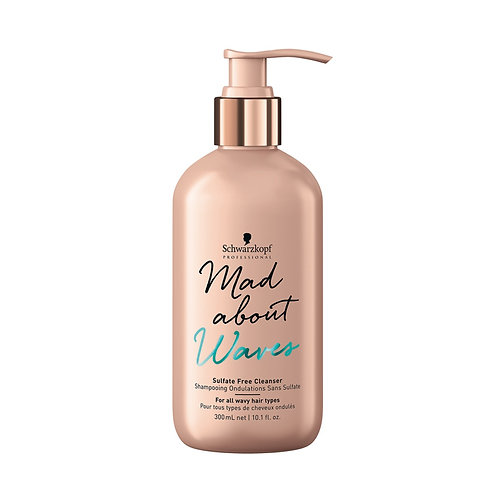 SULFATE FREE CLEANSER Champú - 300ml - MAD ABOUT WAVES
