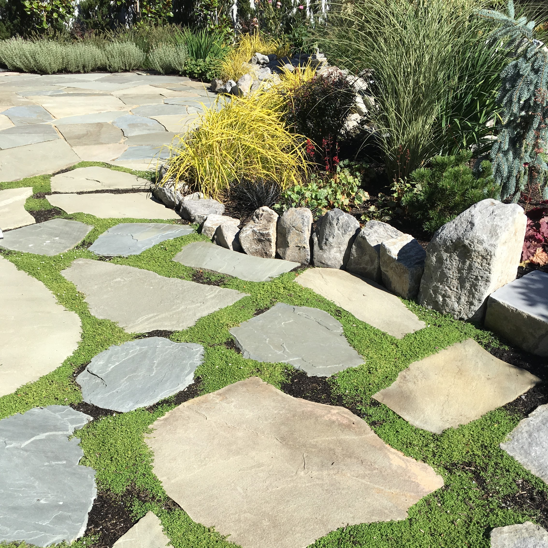 Bluestone Flagstone Patio