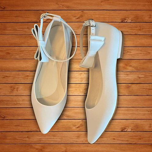 Sapatilha Noiva Cetim Branco