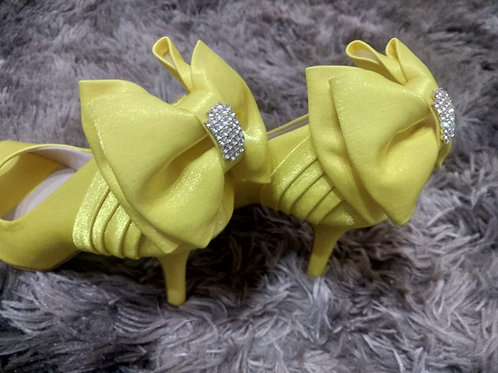 Sapato de Festa Amarelo