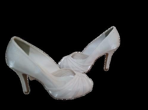 Sapato de Noiva Meia Pata