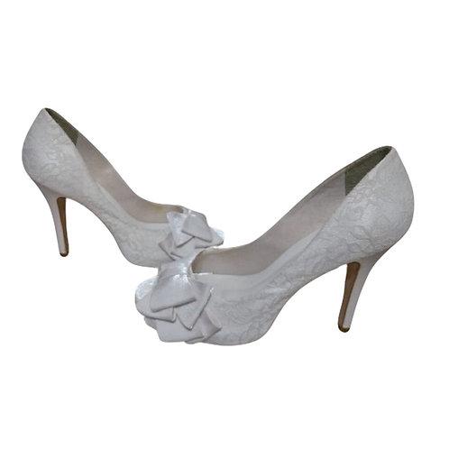 Sapato de Noiva Renda