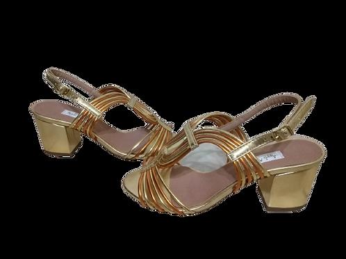 Sapato de Festa Salto Bloco