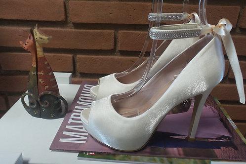 Sapato de Noiva Cetim OffWhite