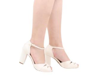 appleshoesbrasil sandalia de noiva branc