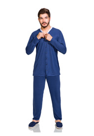appleshoes pijama masculino manga longa