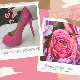 Porque nós amamos pink!_Elegância, charm