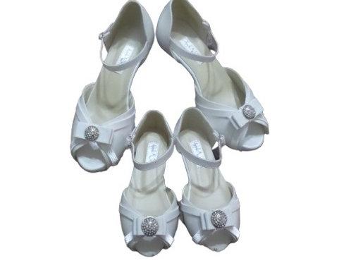 Sandália de Noiva Branco