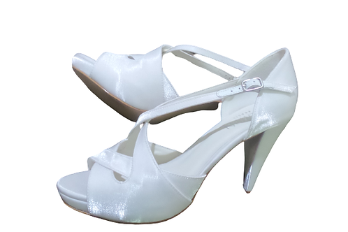 Sandália de Noiva Branca