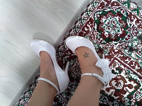 Sapato de Noiva Bico Redondo
