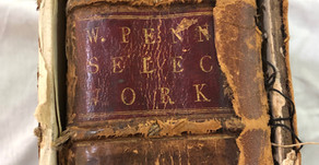 Delaware County Historical Society Receives Landmark Book Written by William Penn