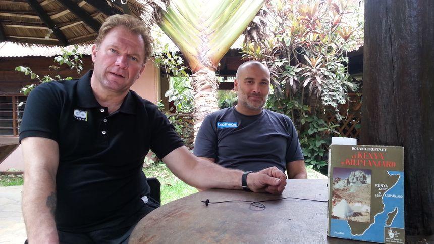 Yann Jondot et Arnaud Chassery