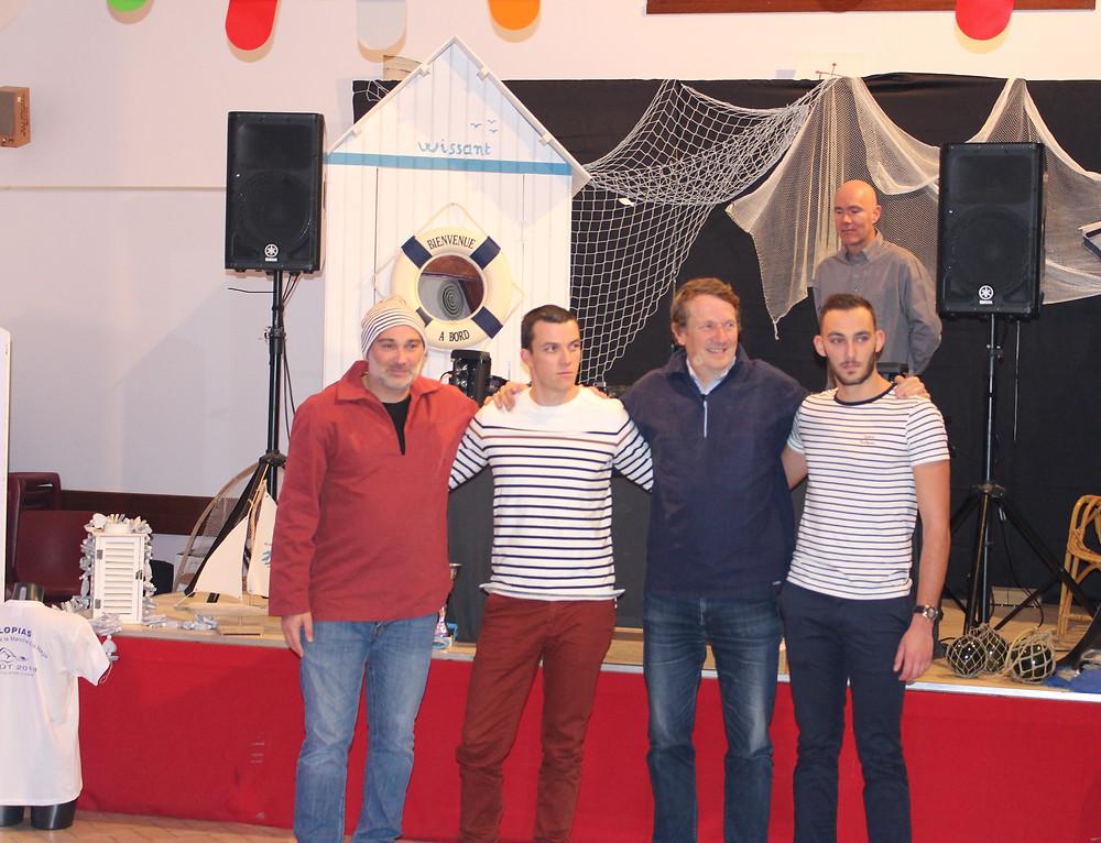 Arnaud, Sylvain,Jacques et Frédéric