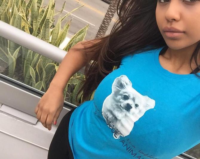 Aaliyah Ceilia in our Snoop TEE