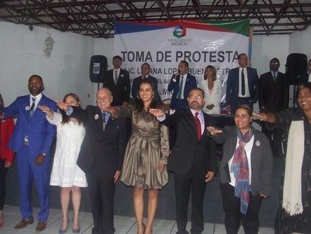 Toma Protesta Liliana Lopez Buenrostro