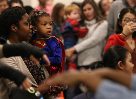 PHOTOS: ACC Library hosts 20th annual One Spooky Night