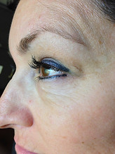 Eyeliner can be whisper thin (or not).