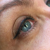 Lash enhancement with winged tip.