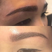 Brow styles are unique to the individual.